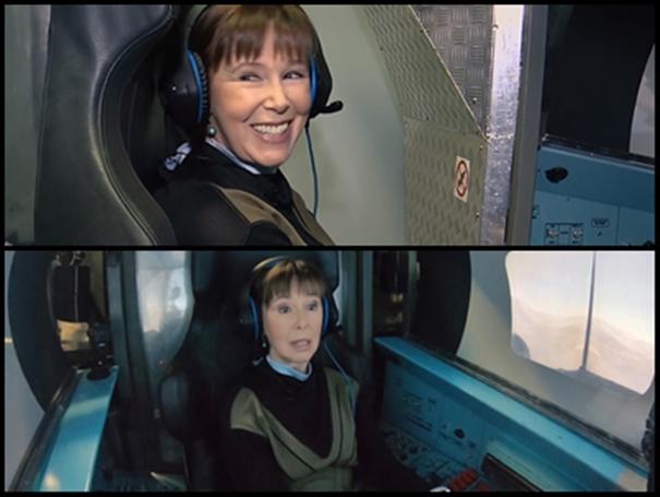 Кабина авиатренажера